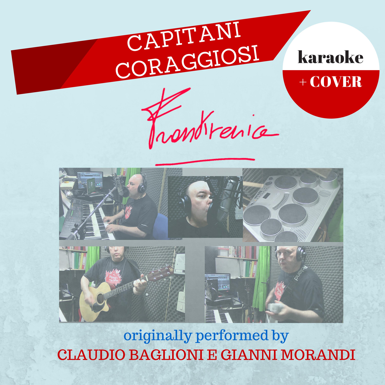 Capitani Coraggiosi - Copertina della base e cover di Frankvenice