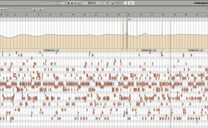 fluttuazioni editing tempo in Melodyne Stand Alone