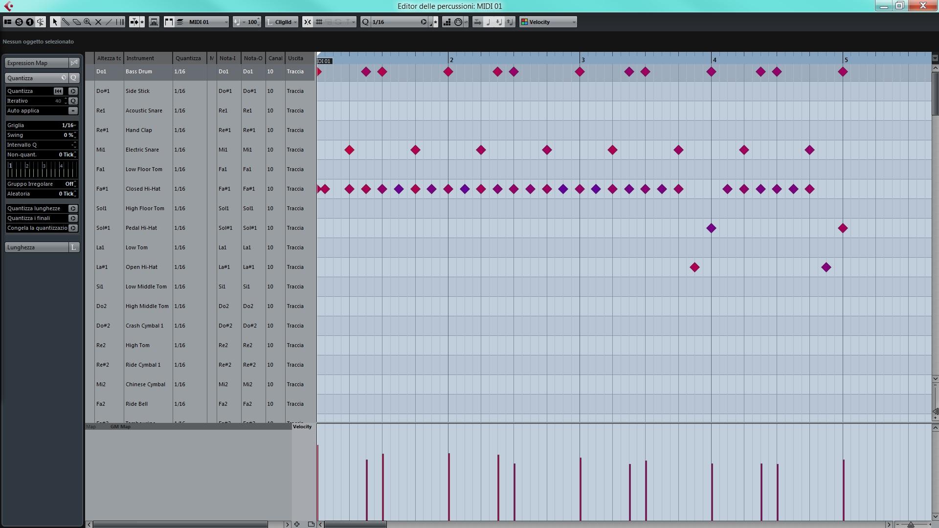 midi drum editor batteria
